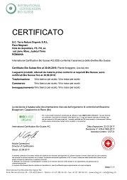 certificat produs bio